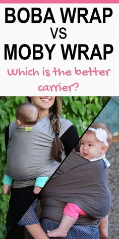 fa725a96670 Boba Wrap vs Moby Wrap - super helpful post to help decide between the two  very