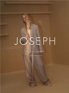 Joseph's spring-summer 2016 campaign spotlights relaxed suiting