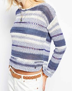 Image 3 of Pepe Jeans Stripe Knit Top