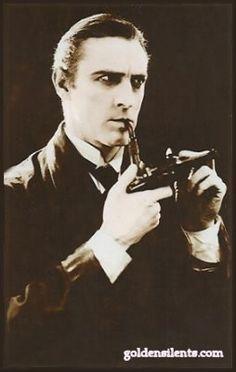 John Barrymore as Sherlock Holmes - 1922