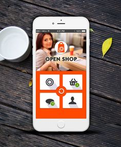 Free E-Commerce app UI psd for Android Lollipop