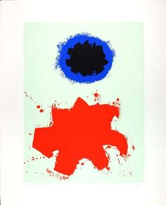Painting by Adolph Gottlieb