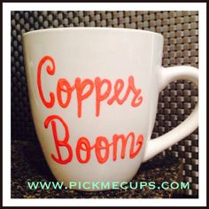 Copper Boom Coffee mug- gilmore girls coffee mug- gilmore girls quotes. A personal favorite from my Etsy shop https://www.etsy.com/listing/226435163/copper-boom-oy-with-the-poodles-already