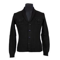 Maglia - MARIO BIONDI - Maglia in puro cotone - Nero - Estivo. € 33,00. #hallofbrands #hob #maglia #sweater #jersey #knitwear
