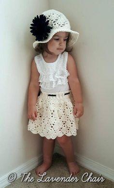 (4) Name: 'Crocheting : Vintage Skirt