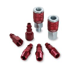 Legacy A73457D Color Connex Type D 7 Piece 14 in Red Coupler and Plug Kit *** Check out this great product.