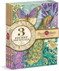 Punch Studio Indian Peacock Small Pocket Journal 3-Pack by Punch Studio, http://www.amazon.com/dp/B004XZZZPI/ref=cm_sw_r_pi_dp_Y5DWrb08ZT2NP
