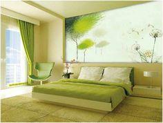 TRENDY WALLPAPER IDEAS TO DECORATE YOUR BEDROOM http://www.urbanhomez.com/decor/trendy_wallpaper_ideas_to_decorate_your_bedroom