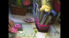 we are memory keepers flower punch board - YouTube