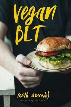 vegan BLT with avocado