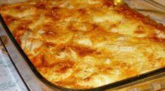 Receita de Bife de peito de frango ao forno Ingredientes: 1 kg de filé de peito de frango 1/2 pacote de creme de cebola 1 caixinha de creme de leite 1 copo de requeijão Modo de Preparo: Corte o fil…