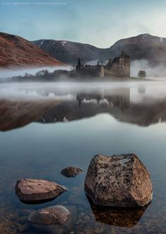 Kilchurn Castle, Loch Awe - Shrouded in Mist