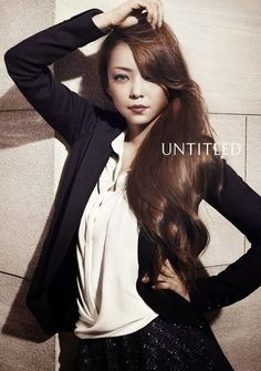 Amuro Namie is the new face of Japanese fashion brand UNTITLED. Love her hair Film Identity, Photography Women, Fashion Photography, Fashion Brand, Fashion Models, Body Poses, Girl Blog, Japanese Fashion, Her Hair