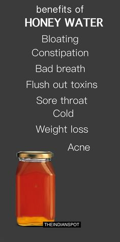 benefits of HONEY WATER Bloating Constipation Bad breath Flush out toxins Sore t. - Health Plus - Diet Plans, Weight Loss Tips, Nutrition and Detox Drinks, Healthy Drinks, Healthy Tips, Healthy Recipes, Healthy Meals, Diet Recipes, Chicken Recipes, Benefits Of Honey Water, Honey Health Benefits