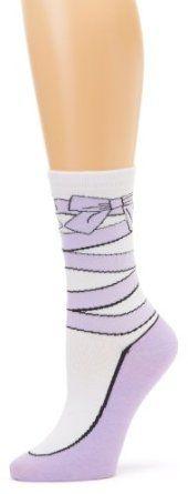 K. Bell Socks Women's Ballet Slipper, Lilac, 9-11 K. Bell. $8.00