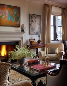 Cullman & Kravis: stunning NY city home of someone with a penchant for indian antiques