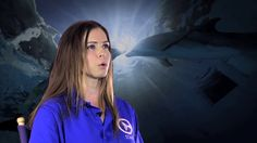 Meet Abby Stone, one of our Senior Marine Mammal Care Providers here at Clearwater Marine Aquarium. Abby was here when Winter was first rescued and she has b.