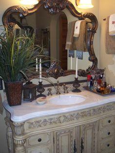 tuscan bathroom decor | Tuscan Bath - Bathroom Designs - Decorating Ideas - HGTV Rate My Space
