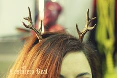 Resin Antlers Costume Deer Fairy Faun Horns Cosplay Faun Stag