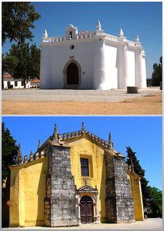 Ermida S Sebastião e Igreja matriz de Alvito