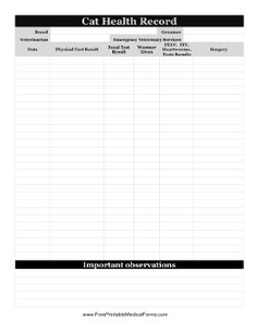 pet health record template excel koni polycode co