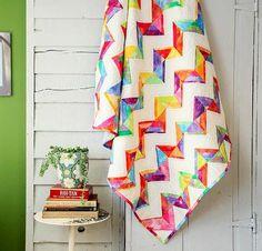 Rainbow Sherbet Quilt Kit