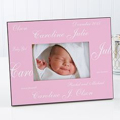 New Arrival Personalized Baby Frame-Solid