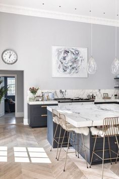 Excellent modern kitchen room are readily available on our web pages. Read more and you wont be sorry you did. Home Interior, Kitchen Interior, Interior Design Living Room, Home Decor Kitchen, New Kitchen, Kitchen Craft, Kitchen Decorations, Kitchen Corner, Kitchen Wood