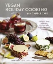 VEGAN HOLIDAY COOKING FROM CANDLE CAFE New York's Restaurant recipes cookbooks