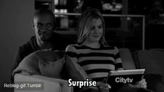 Surprise for him not for her...