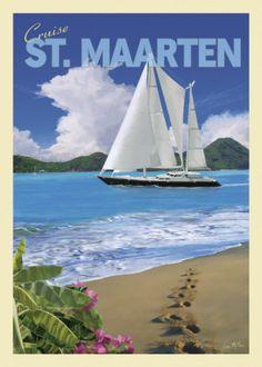 St. Maarten-my favorite Carribean island.  So peaceful and beautiful!                           St Maarten/St Martin is part of the Netherlands Antilles.