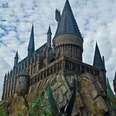 Universal Studios... Harry Potter world and Hogwarts!