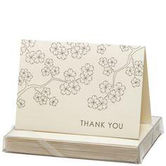 Cherry Blossom - Snow & Graham: Letterpress Stationery