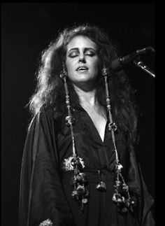 Grace Slick while performing in New York City, 1974