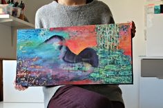 Behind the painting - in this blog post, I talk about how this painting evolved and found its final form! Art Blog, Night, Artwork, Painting, Work Of Art, Auguste Rodin Artwork, Painting Art, Paintings, Drawings