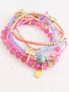 Bracelets , gemstones & gold