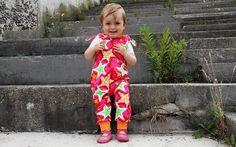 Overalls - ARTISTS Bio-Babyoverall pink - ein Designerstück von Sandstrasse bei DaWanda