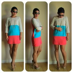 DIY Dress: Colorblocking Love!