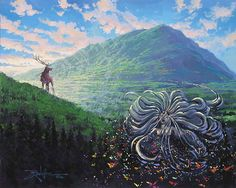 Fantasia 2000 - The Rebirth of Spring - Original - Rodel Gonzalez - World-Wide-Art.com