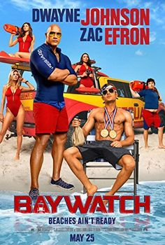 Baywatch - Authentic Original 27 x 40 Movie Poster @ niftywarehouse.com