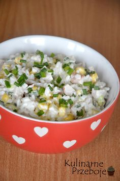 Risotto, Potato Salad, Bacon, Salads, Grains, Potatoes, Ethnic Recipes, Food, Pineapple