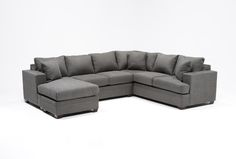 Kerri 2 Piece Sectional W/Laf Chaise - Living Spaces