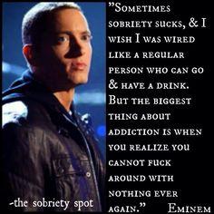 Eminem - sobriety