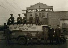 "Golden Crust Bakery near ""M"" Street Bakersfield, California."