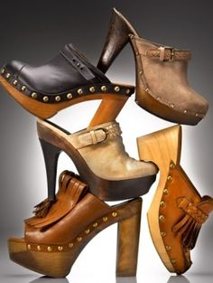 Clogs! I want all of them! LOVE!