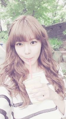 Sooyoung and her adorable Selca