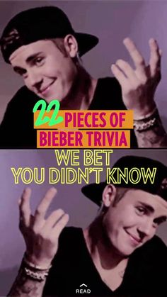 You probably think you know everything about Justin Bieber (you're probably wrong). Fact check yourself on PEOPLE's Snapchat Discover right now!
