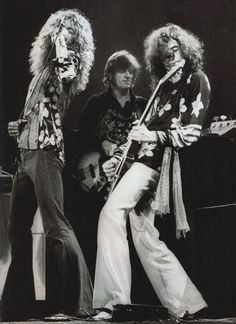 Robert Plant; John Paul Jones; Jimmy Page