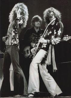 Robert Plant; John Paul Jones; Jimmy Page