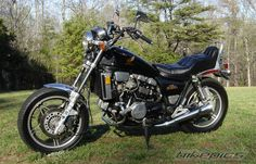 1983 Honda V45 Magna (VF750c) - Purchased this model in Georgia, nice bike, but was a little low on power.